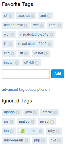 StackOverflow-Tags